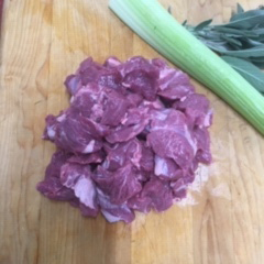 Diced Shoulder lamb